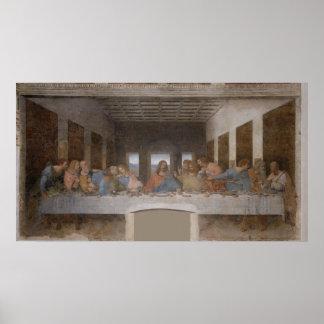 La última cena (1495-1498) póster