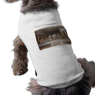 La última cena (1495-1498) camisas de perritos