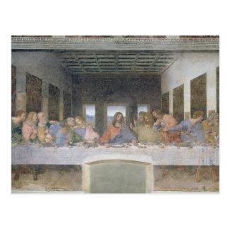La última cena, 1495-97 2 postales