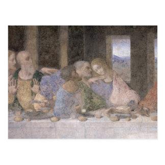 La última cena, 1495-97 3 postal