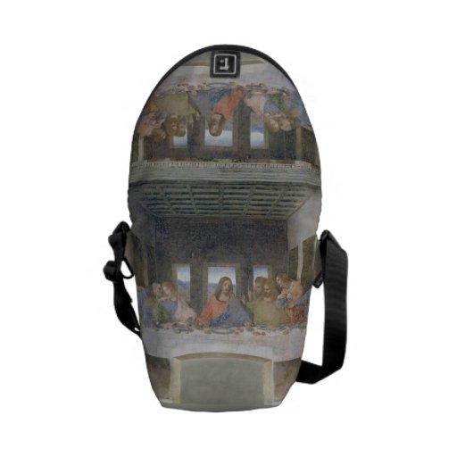 La última cena, 1495-97 (fresco) bolsa de mensajería