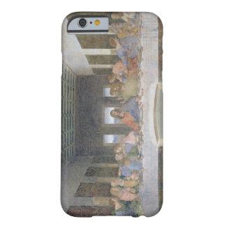 La última cena, 1495-97 (fresco) funda barely there iPhone 6
