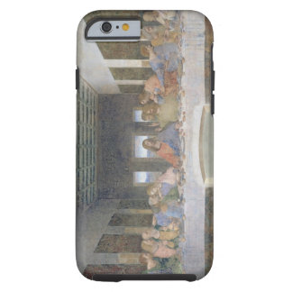 La última cena, 1495-97 (fresco) funda para iPhone 6 tough