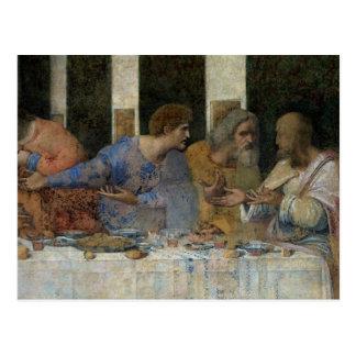 La última cena, 1495-97 tarjetas postales