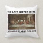 La última cena (1498) por Leonardo da Vinci Cojin