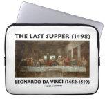La última cena (1498) por Leonardo da Vinci Funda Portátil