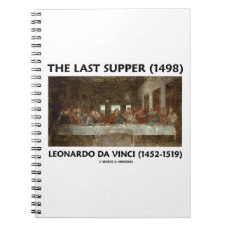 La última cena (1498) por Leonardo da Vinci Notebook