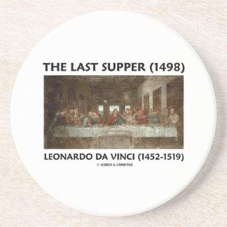 La última cena (1498) por Leonardo da Vinci Posavasos Cerveza