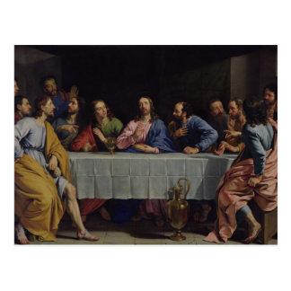 La última cena, 1648 postal