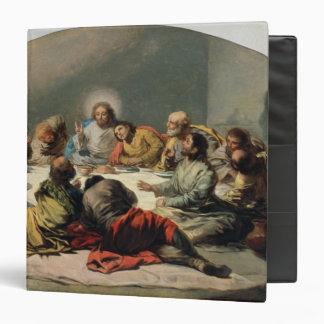 """La última cena, 1796-97 carpeta 1 1/2"""""""