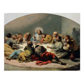 La última cena, 1796-97 tarjeta postal