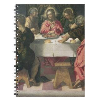 La última cena 4 libro de apuntes