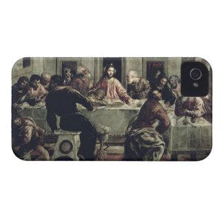 La última cena (aceite en lona) 2 funda para iPhone 4