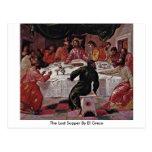 La última cena de El Greco Postal