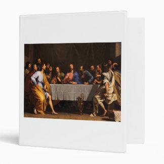 """La última cena de Felipe de Champaigne (1648) Carpeta 1"""""""