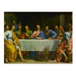 La última cena de Felipe de Champaigne 1654 Postal