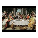 La última cena de Juan de Juanes Postales