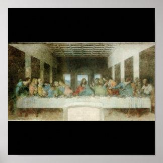 La última cena de Leonardo da Vinci C. 1495-1498 Posters