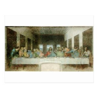 La última cena de Leonardo da Vinci C. 1495-1498 Postales