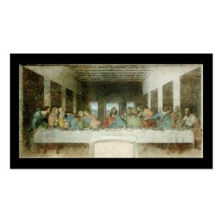 La última cena de Leonardo da Vinci C. 1495-1498 Tarjeta Personal