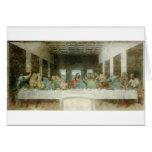 La última cena de Leonardo da Vinci C. 1495-1498 Tarjeta De Felicitación