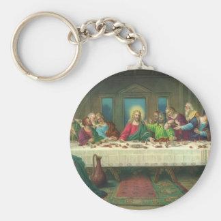 La última cena de Leonardo da Vinci Llavero Redondo Tipo Pin