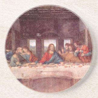 La última cena de Leonardo da Vinci, renacimiento Posavasos Manualidades