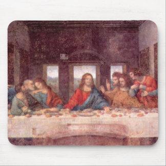La última cena de Leonardo da Vinci, renacimiento Alfombrillas De Ratones