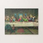 La última cena de Leonardo da Vinci Rompecabezas Con Fotos
