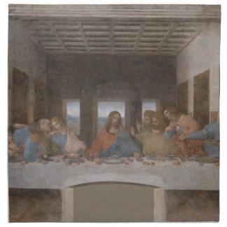 La última cena de Leonardo da Vinci Servilletas De Papel