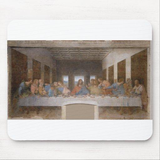 La última cena de Leonardo da Vinci Tapete De Raton