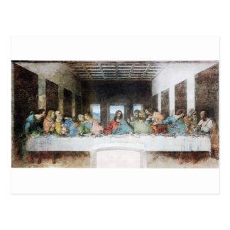 La última cena de Leonardo da Vinci Postales