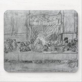 La última cena, después del fresco por Leonardo DA Alfombrillas De Ratón