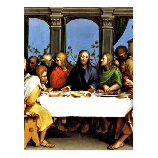 La última cena - Hans Holbein el más joven Postal