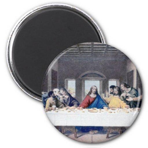 La última cena iman de nevera