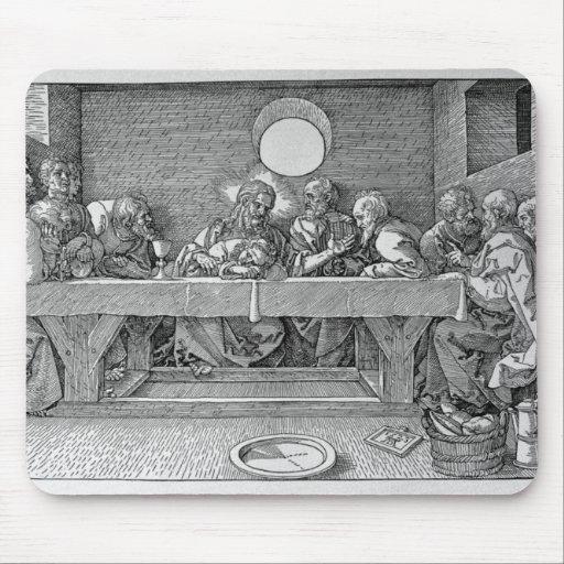 La última cena, pub. 1523 mouse pads