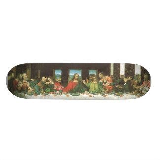 La última cena skate boards