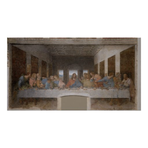 La última cena Última Cena de Leonardo da Vinci Impresiones
