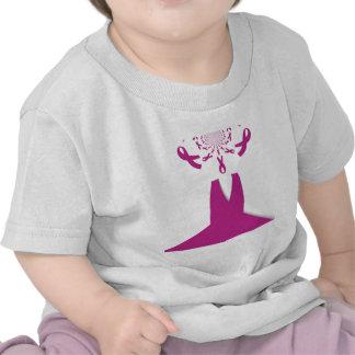 La última conciencia Ribon del cáncer de pecho de Camiseta