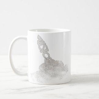 la única bomba digno de la caída tazas de café