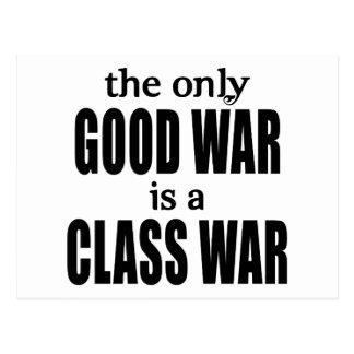 La única buena guerra es una guerra de clase postal