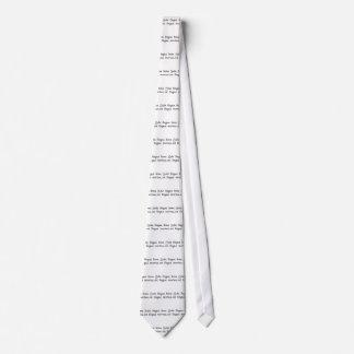 La única buena lengua es una lengua muerta corbata personalizada