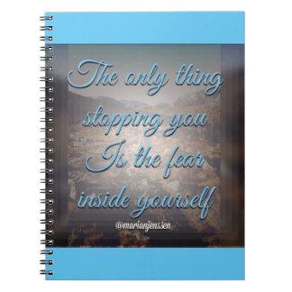 La única cosa que le para spiral notebooks