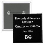 La única diferencia en medio, Osama, y, Obam… Pins