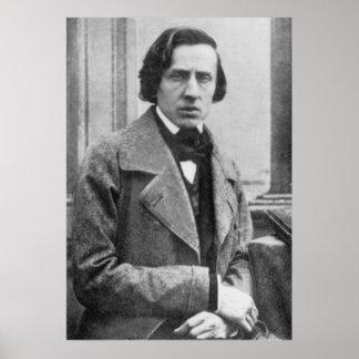 La única fotografía sabida de Federico Chopin Póster