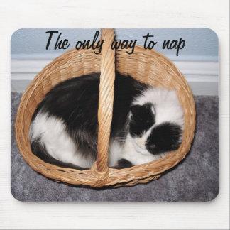 La única manera de nap mousepads