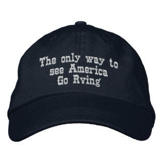 La única manera de ver América ir Rving Gorra De Béisbol