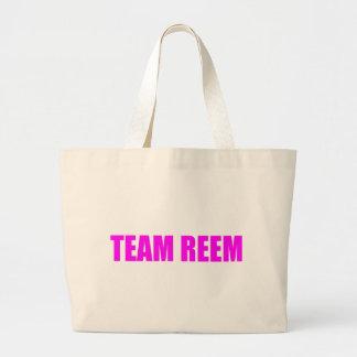 La única manera es equipo Reem TOWIE Joey de Essex Bolsa De Tela Grande