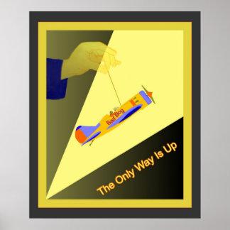 La única manera está para arriba póster