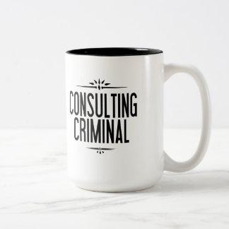 La única taza criminal asesor del mundo